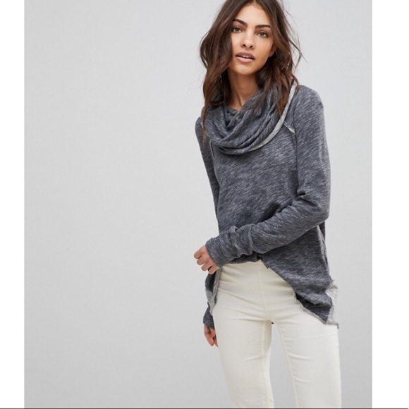 cebdaf9910 Free People Sweaters | Fp Beach Oversized Cocoon Cowl Neck Pullover ...